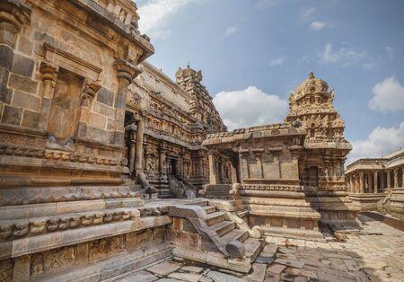 Airavatesvara Temple, Darasuram, Tamil Nadu, India.