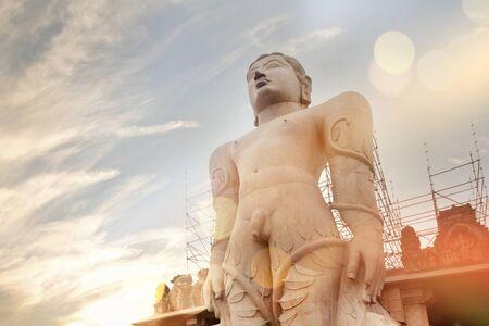 India Shravanabelagola statue of Gomateswara Editorial