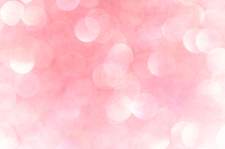Pink abstract bokeh background, creative design. holiday decoration.