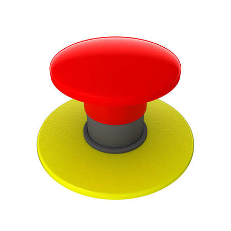 emergency light: Red button