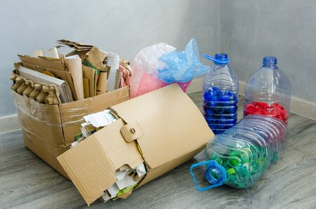 Trash for recycle and reduce ecology environment