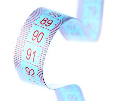 parameter: measuring tape Stock Photo