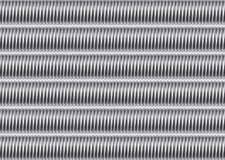 spiralling: Abstract background composed of metal springs