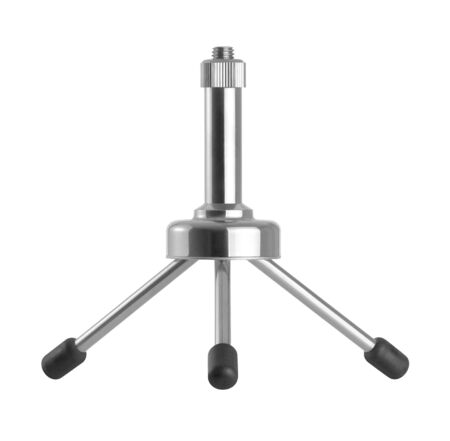 Tripod or stand on a white background Stock Photo