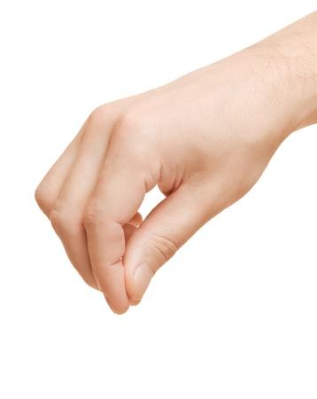 lift hands: Mano a�ade sal en los alimentos y las especias. O la celebraci�n de alg�n objeto.