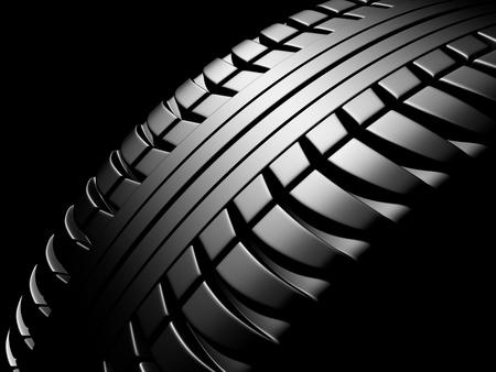 tire tread: tire texture