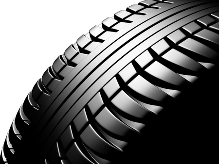 tire texture Stock Photo - 18423521