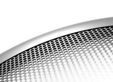 cribriform: mesh background Stock Photo