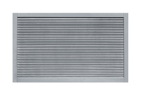 ventilation grid on a white background photo