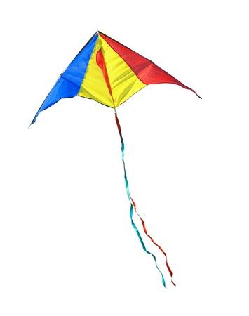 Kite on a white background photo