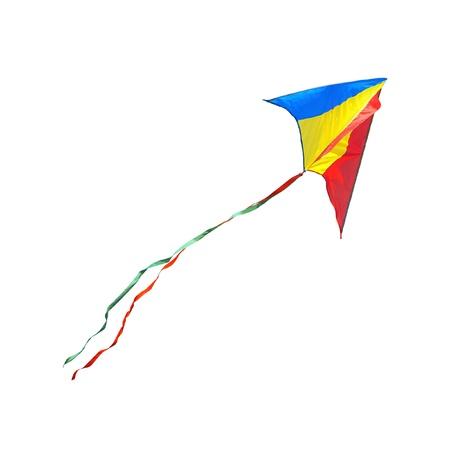 Kite on a white background Standard-Bild