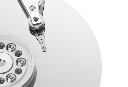 data recovery: Hard disk drive Stock Photo