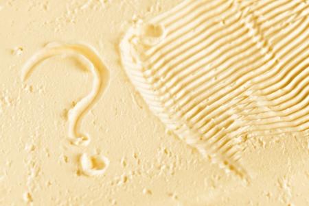 high calorie foods: butter