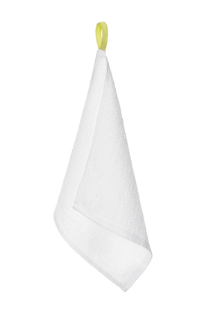 towel on a white background photo