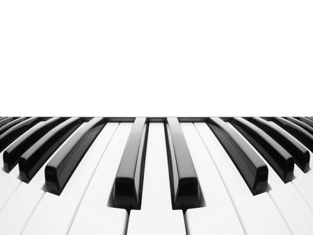 Piano keyboard. Abstract with a field for text
