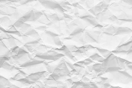 crumpled paper, abstract background or texture Banco de Imagens