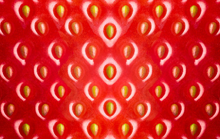 イチゴの質感、抽象的な背景