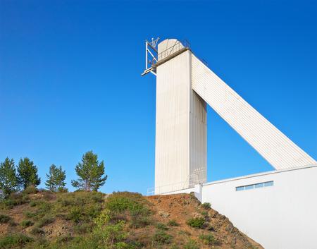 astrophysical: Big solar vacuum telescope. Baikal astrophysical Observatory. Russia