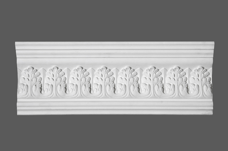 stucco: white stucco moulding, elements of wall design
