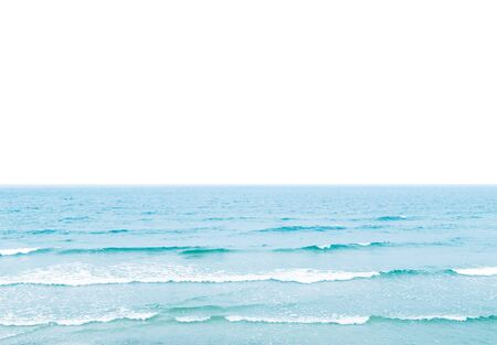 ocean waves: sea with white field for the text Stock Photo