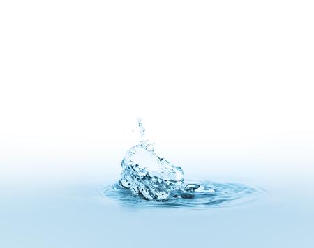 water splash Standard-Bild