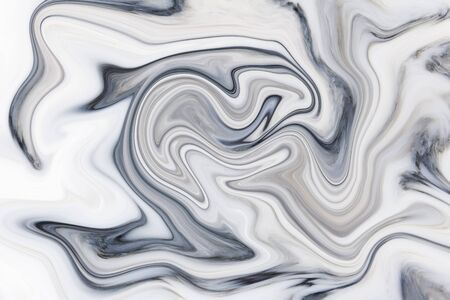 Psychedelic minimalistic abstract marble background with curls and curved flowing lines 版權商用圖片