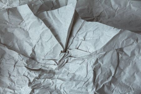 New background of crumpled wrapping paper 版權商用圖片 - 145047746