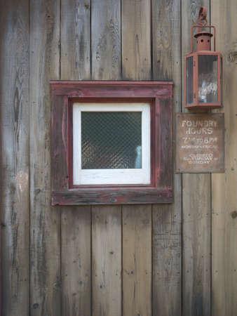 Small window Stock Photo