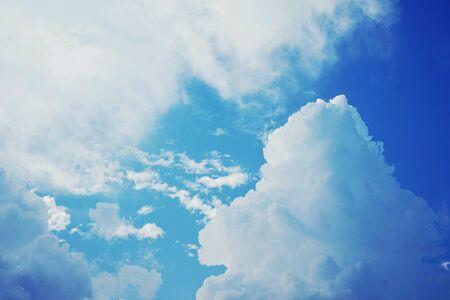bluesky: Cloud in blue sky
