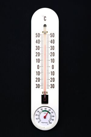 humidity: thermometer and humidity Stock Photo