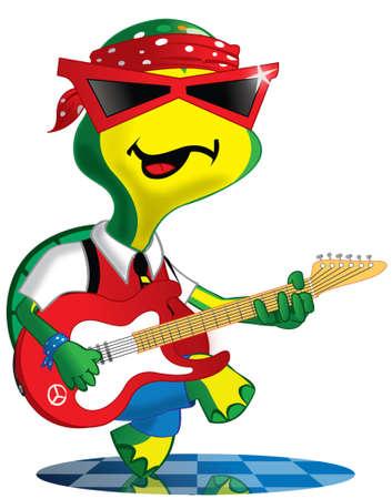 rockstar: Rockstar Stock Illustratie