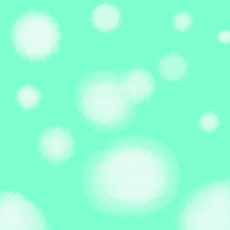 pastel green background with white polka dot background texture design on border