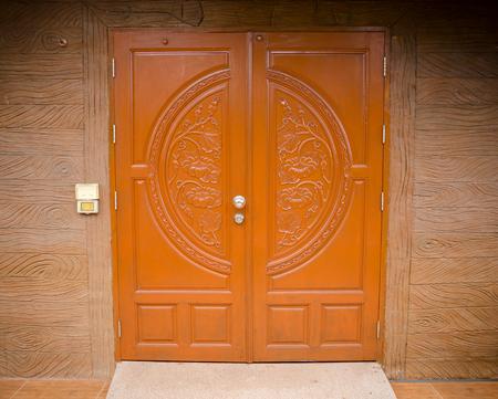 vintage oriental wooden doors.
