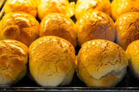 foodies: Crispy butter bun Stock Photo