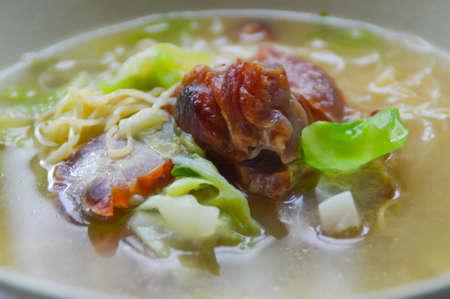 FOODIES: BBQ pork meat noodle