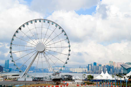 ferries: Hong Kong Ferries Wheels Editorial