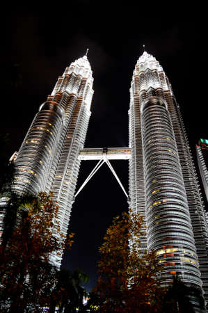 twin tower: KLCC Twin Tower Editorial