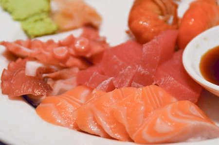 foodies: Shashimi Stock Photo