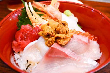 foodies: Sashimi Don