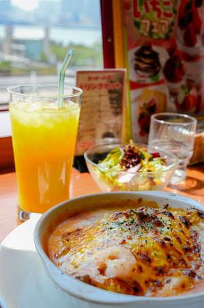 foodies: Seafood bake cheese rice set