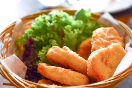 nugget: Chicken Nugget Stock Photo