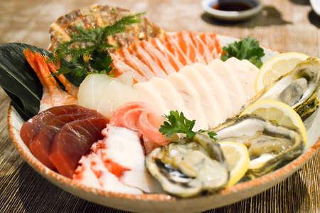 foodies: Crystal Sashimi Platter