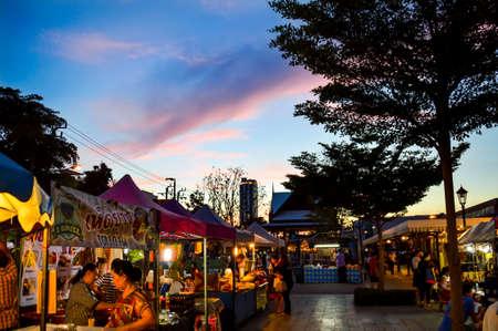 Nice Sky at night market