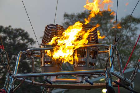 firing: Firing up the machine Stock Photo