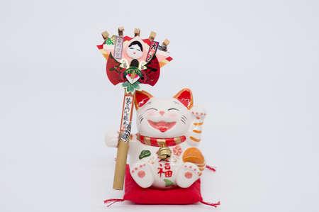interior decoration accessories: Decorative item - Japanese lucky cat