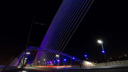 Seri Saujana Bridge Stock Photo