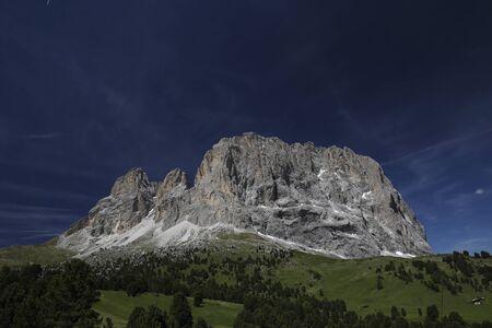 Sasso Lungo view Standard-Bild