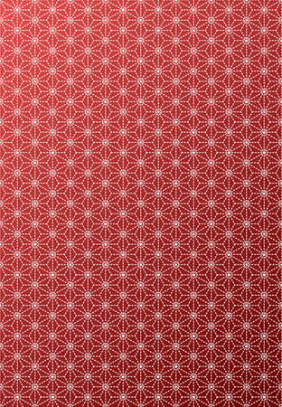 This pattern is a traditional pattern has been used since ancient times in Japan.