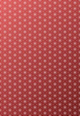 Dit patroon is een traditioneel patroon is gebruikt sinds de oudheid in Japan.