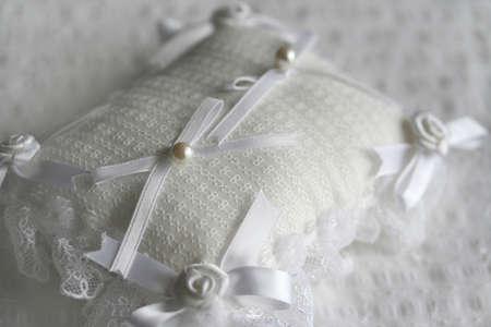 Ring pillow Stock Photo - 14384271